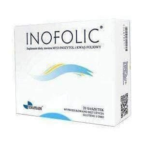 INOFOLIC Sachets N20 PCOS Treatment, Inositol & Folic Acid Ovulation UK stock