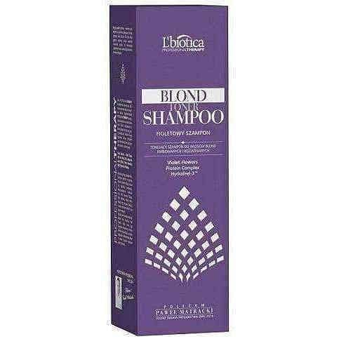 L'BIOTICA Professional Therapy Blond Toner purple shampoo 250ml