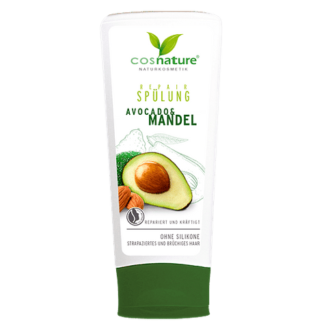 Natural regenerative hair conditioner with avocados and almonds 200ml
