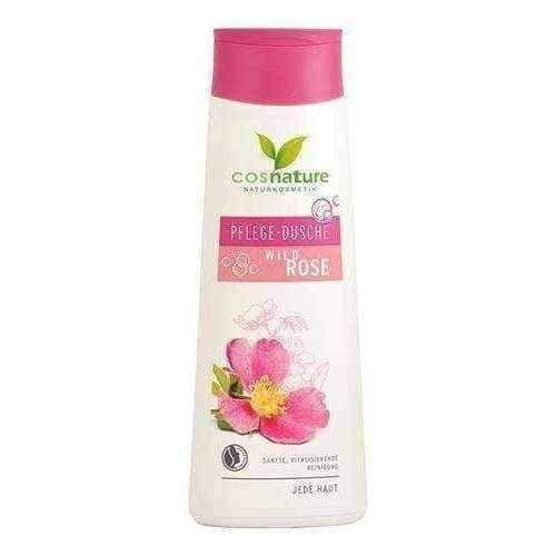 Natural shower gel nourishing with wild rose 250ml
