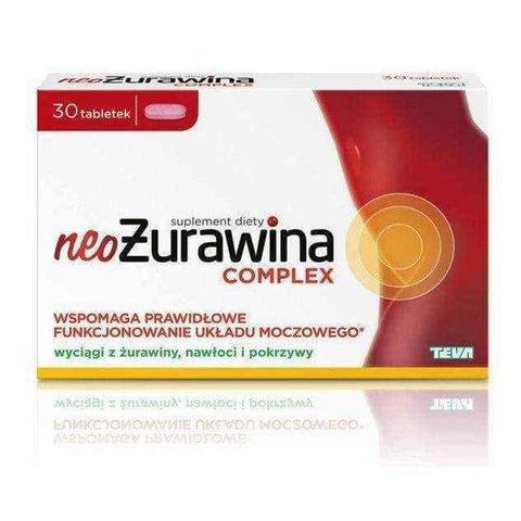 neoŻurawina Complex x 60 tablets, plant extracts