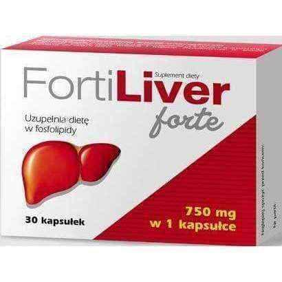 Phospholipids | Fortiliver Forte 750mg x 30 capsules