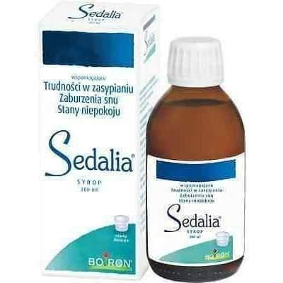 Syrup SEDALIA® BOIRON 200ml - Homeopathy for SLEEP DISORDER & NERVOUSNES from 1 year.