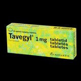TAVEGYL N20 skin allergy, Rashes, Itching, Insect Bites Finland UK stock skin allergies