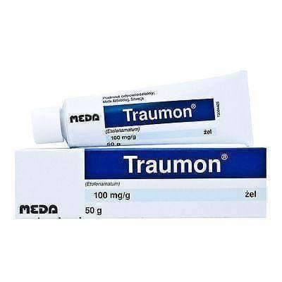 TRAUMON GEL 50 ml with analgesic and anti-inflammatory topical