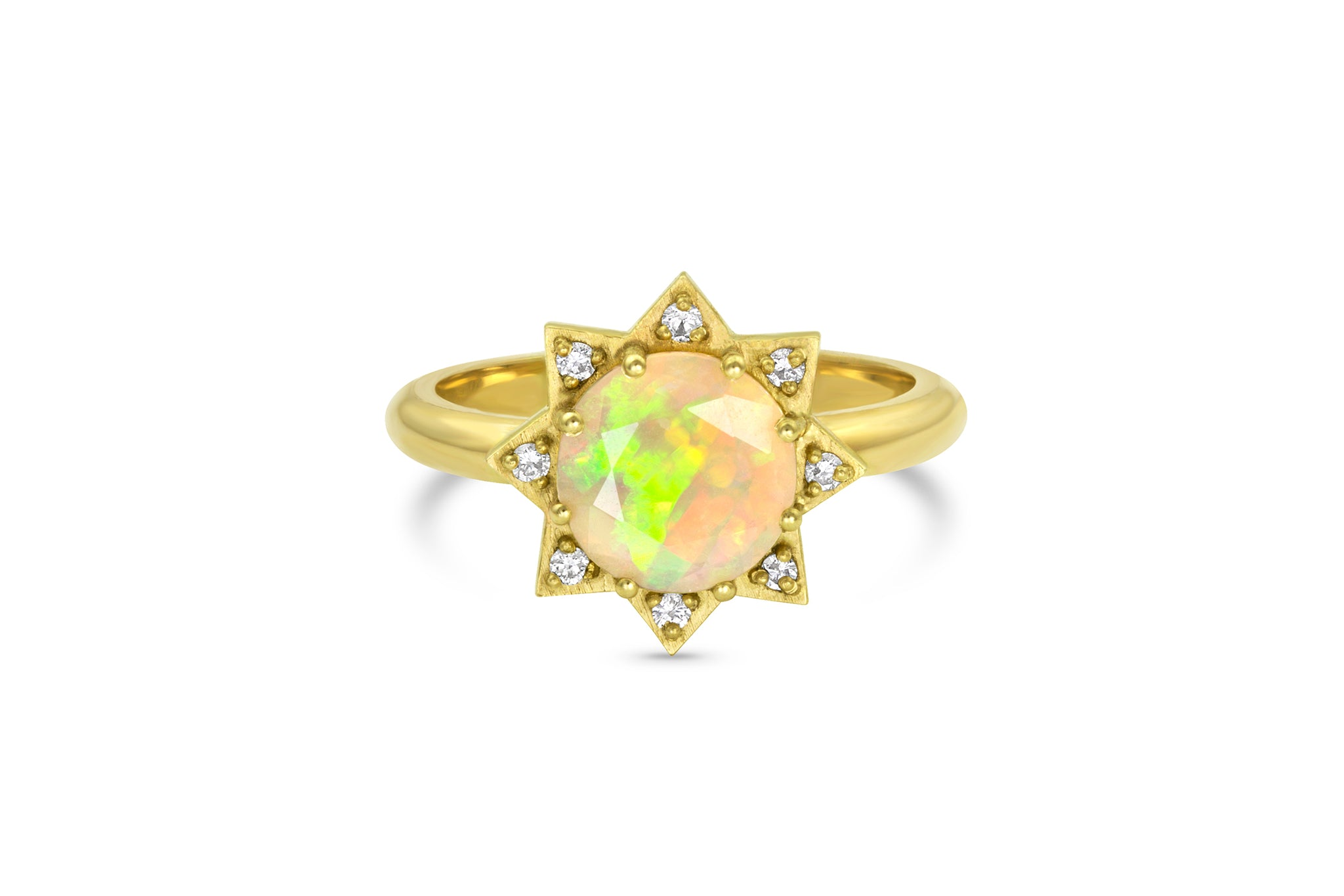 Mini Starburst Ring