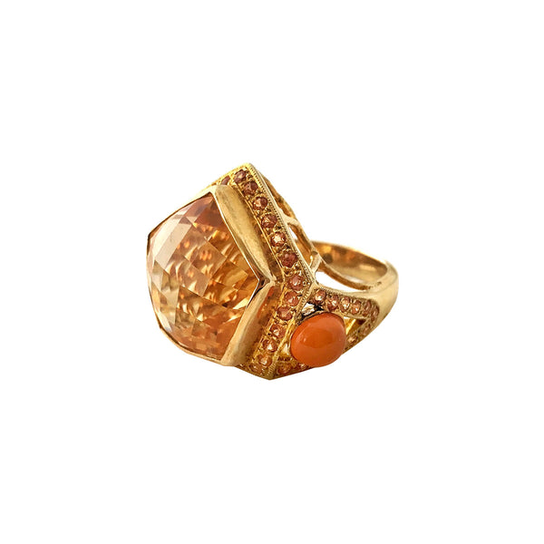 Royal Citrine Ring