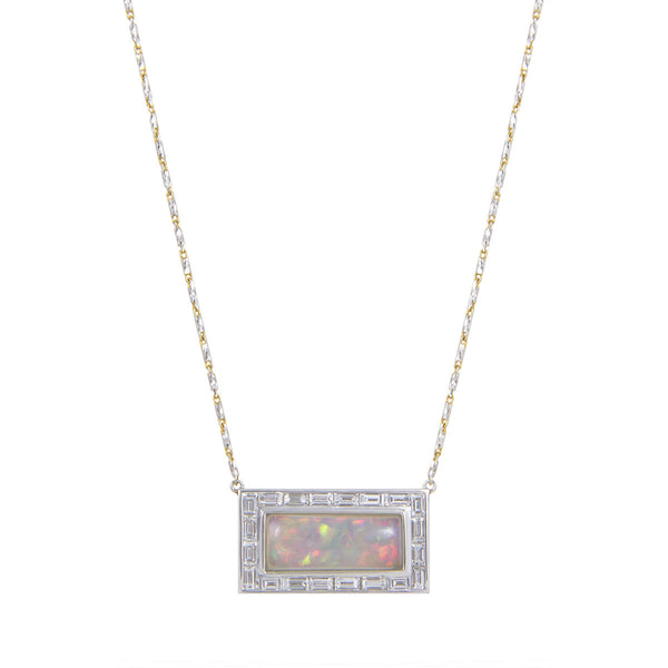 Opal Brick Necklace