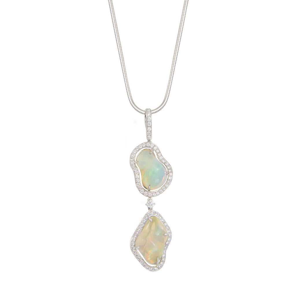 Tumbled Opal Necklace