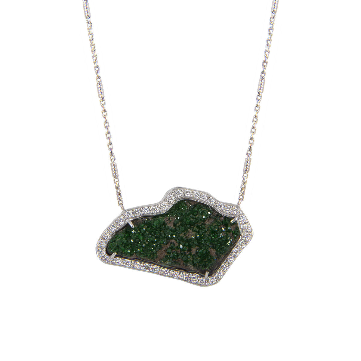 Crystallized Meteor Necklace