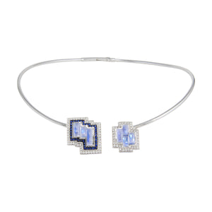 Galactic Tile Necklace