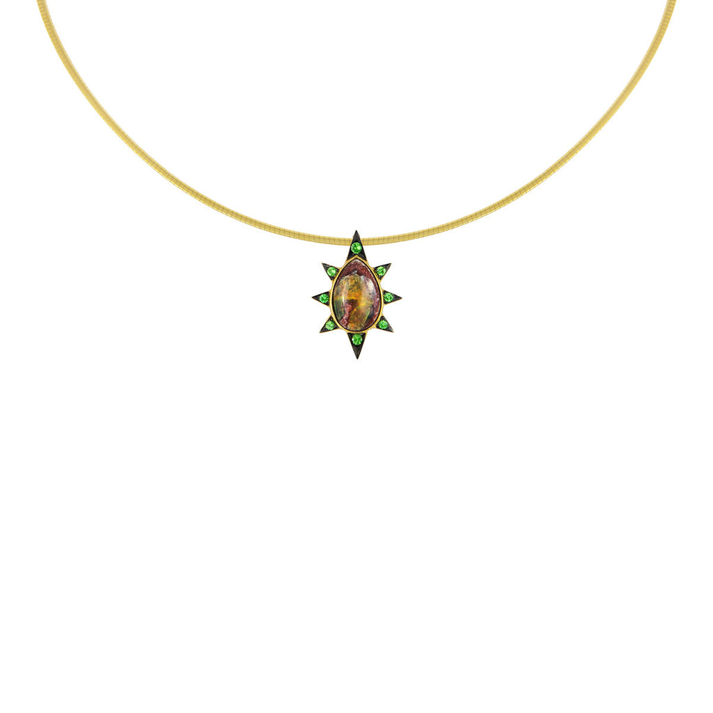 Pear Burst Necklace