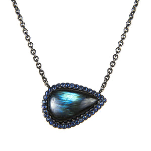 Resting Teardrop Necklace