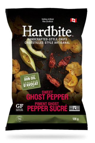 Hardbite Chips - Sweet Ghost Pepper - 128g