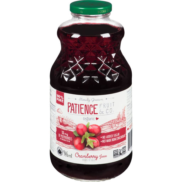 Patience Fruit and co Cranbery juice
