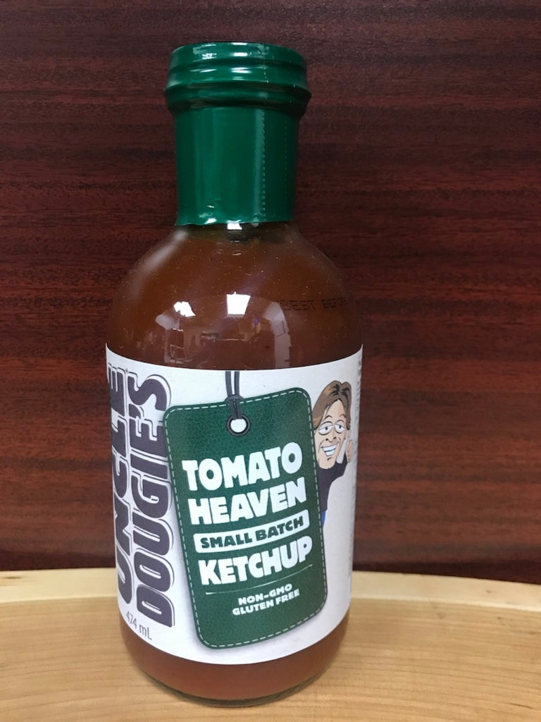 Uncle Dougie's Tomato Heaven Small Batch Ketchup - BlossomPure Organic
