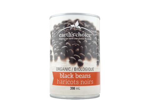 Earth's Choice Organic Black Beans - BlossomPure Organic