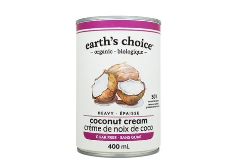 Earth's Choice Organic Heavy Coconut Cream (Guar Free) - BlossomPure Organic
