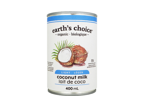 Earth's Choice Organic Light Coconut Milk - BlossomPure Organic