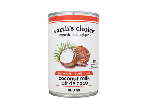 Earth's Choice Organic Coconut Milk (Premium) - BlossomPure Organic