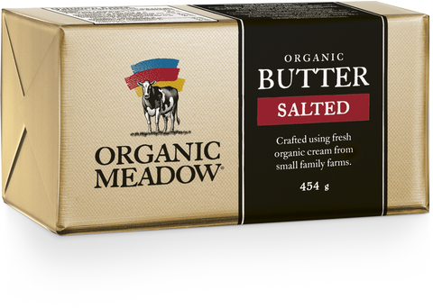 Organic Meadow Butter [Salted]  (1 lb) - BlossomPure Organic