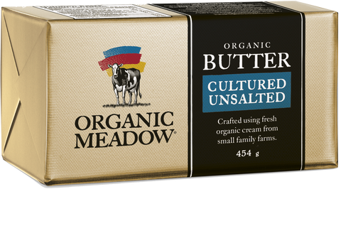 Organic Meadow Butter [Unsalted]  (1 lb) - BlossomPure Organic