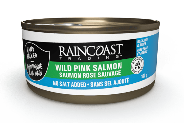 Raincoast Trading Wild Pink Salmon (No Salt Added)
