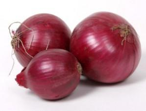 Fresh Organic Red Onion Bag