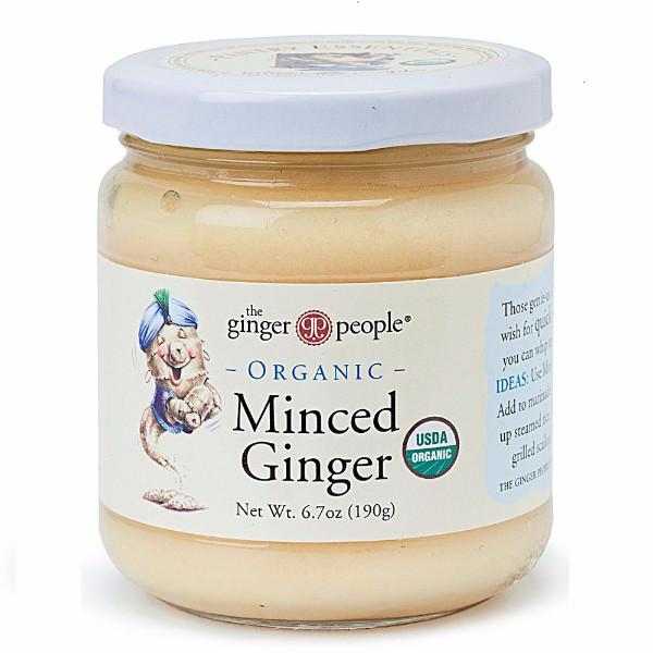 The Ginger People Organic Ginger Root - Minced (190 g) - BlossomPure Organic