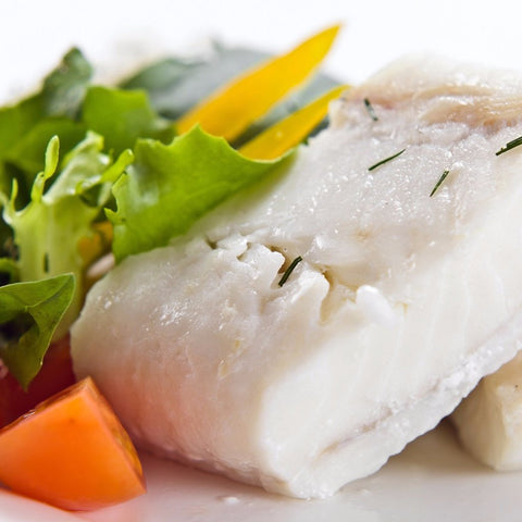 Wild Caught Halibut  (6 oz pack ) - BlossomPure Organic