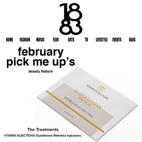 FEATURED IN 1883 MAGAZINE UK - February's Pick Me Up