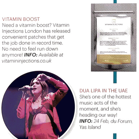 AHLAN P MAGAZINE (UAE) - VITAMIN BOOST
