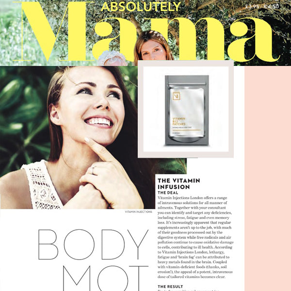 FEATURED IN Absolutely Mama UK - Body Mot - Four treatments for a physical spring clean