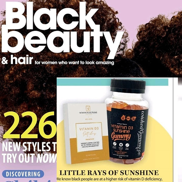 FEATURED IN Black Beauty & Hair UK - Little Rays of Sunshine