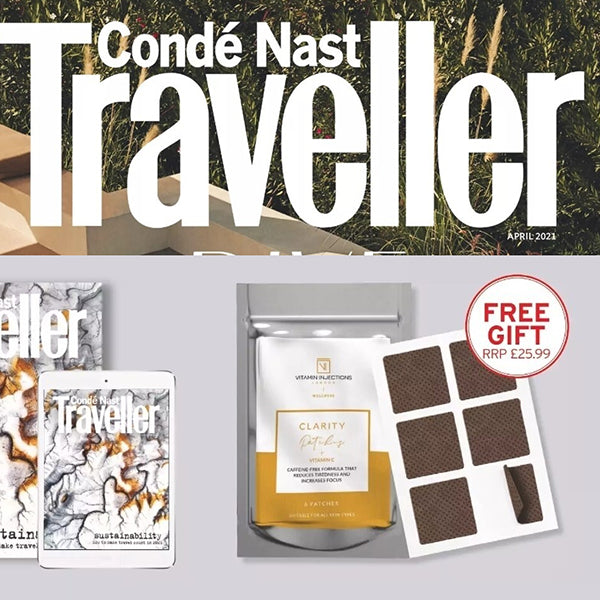 FEATURED IN Conde Nast Traveller UK  -  Buy Magazine with Free Gifts