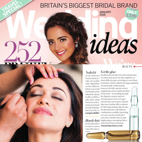 FEATURED IN WEDDING IDEAS UK – GET THE GLOW