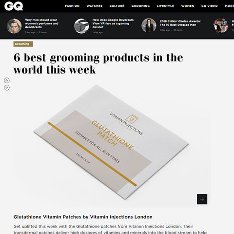 FEATURED IN GQ MAGAZINE UK - 6 BEST GROOMING PRODUCTS IN THE WORLD THIS WEEK