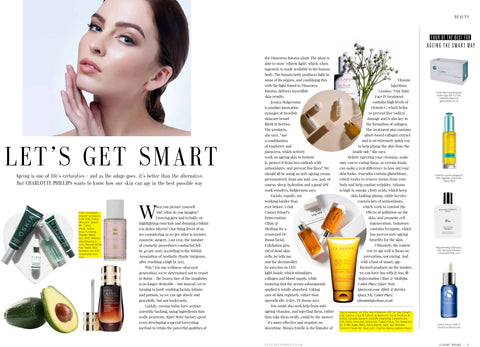 FEATURED IN CANARY WHARF MAGAZINE – LET'S GET SMART…