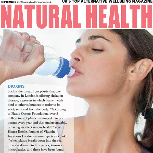 FEATURED IN Natural Health Magazine UK - TOP STORY - DIOXINS