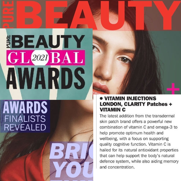 FEATURED IN Pure Beauty UK - Pure Beauty Global 2021 Awards