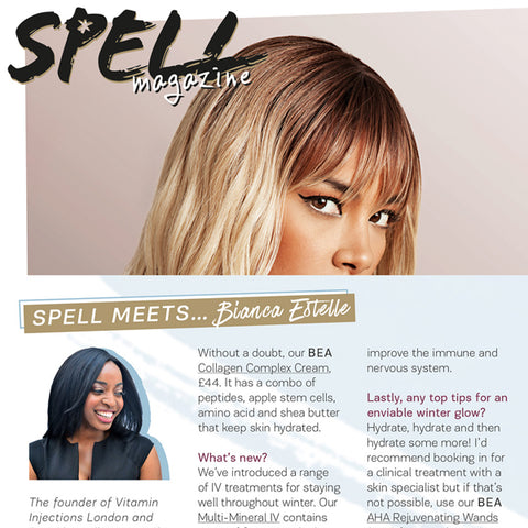 FEATURED IN SPELL MAGAZINE – SPELL MEETS BIANCA ESTELLE