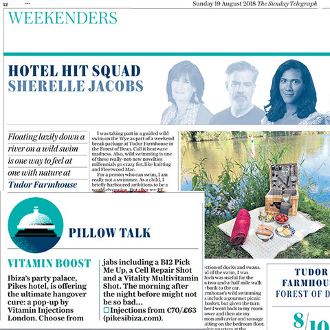 FEATURED IN Sunday Telegraph UK  - Pillow Talk - Vitamin Boost