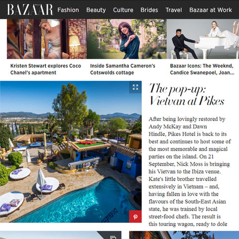 FEATURED IN HARPERS BAZAAR UK – THE POP-UP: VITAMIN INJECTIONS LONDON AT PIKES