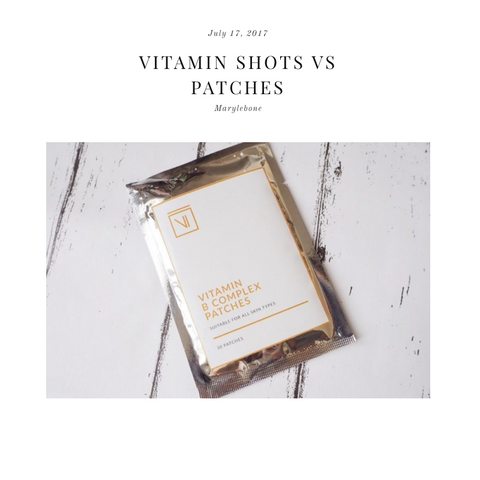 FEATURED IN DOSE – VITAMIN SHOTS VS PATCHES