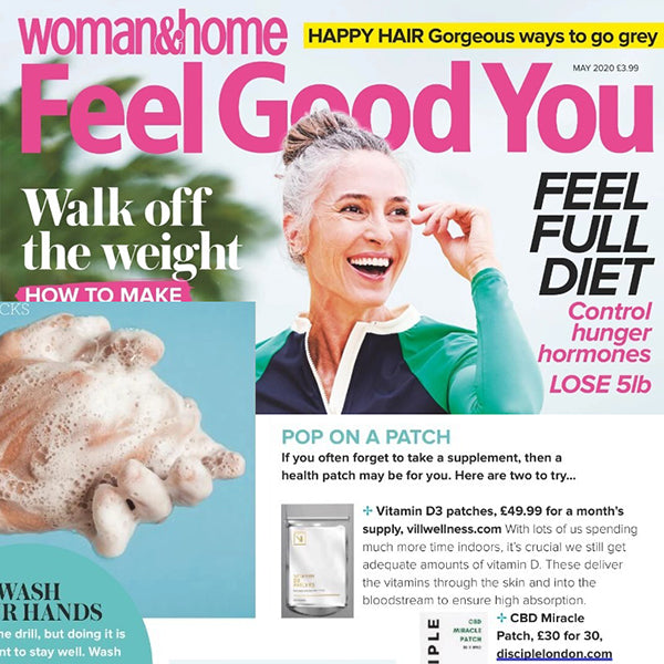 FEATURED IN Woman&Home Feel Good You - Pop on a Patch