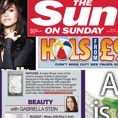 FEATURED IN THE SUN ON SUNDAY UK - You Health with Jane Atkinson