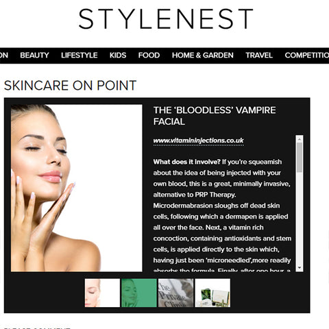 FEATURED IN STYLENEST UK - SKINCARE ON POINT