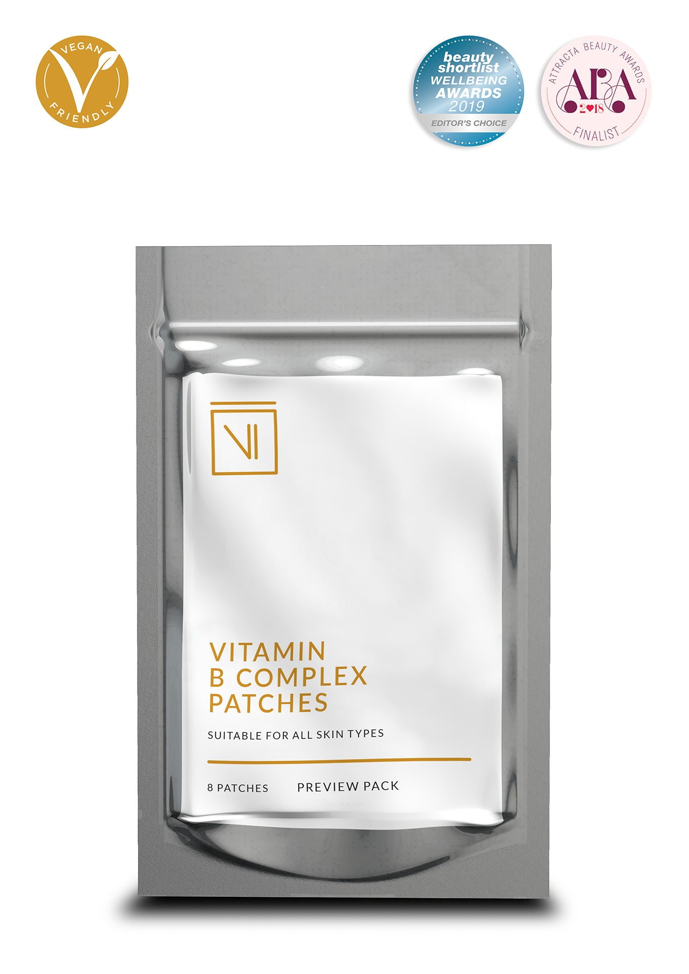 Vitamin B Complex Skin Patches - Preview Pack (8 Patches)