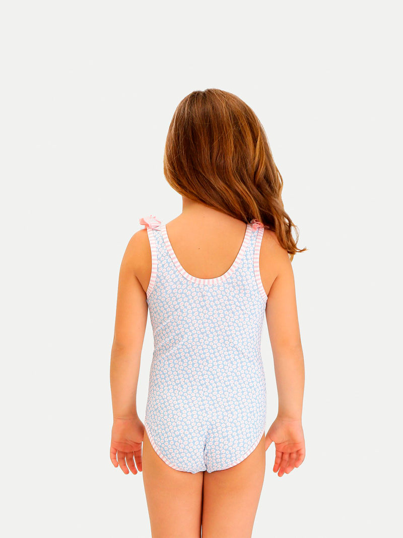 BLUE DAISIES ONE PIECE