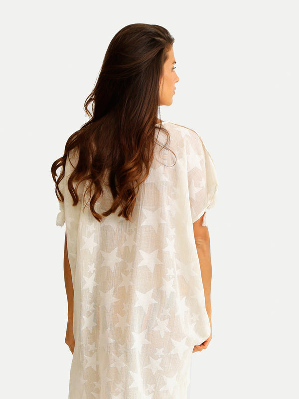 STAR TUNIC COVER UP